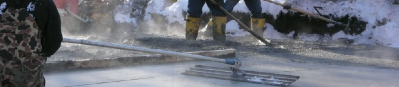 محاسبه ضد یخ بتن
